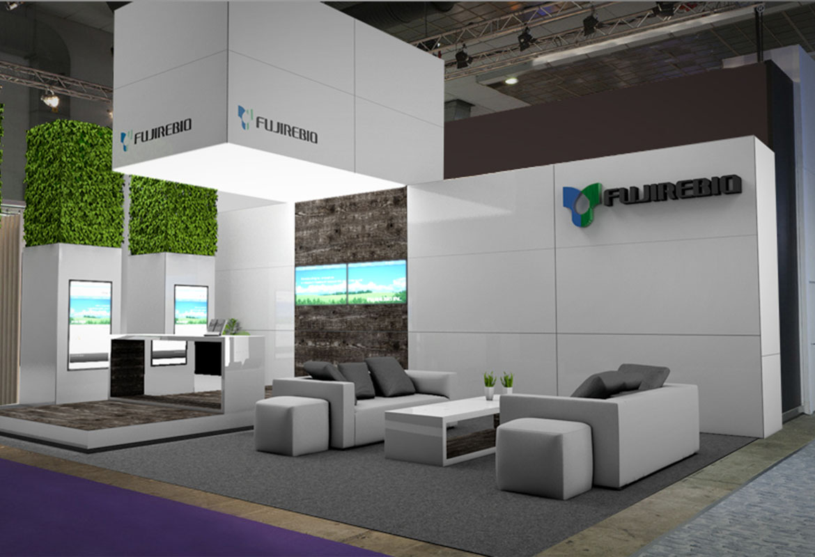 FUJIREBIO STAND DESIGN