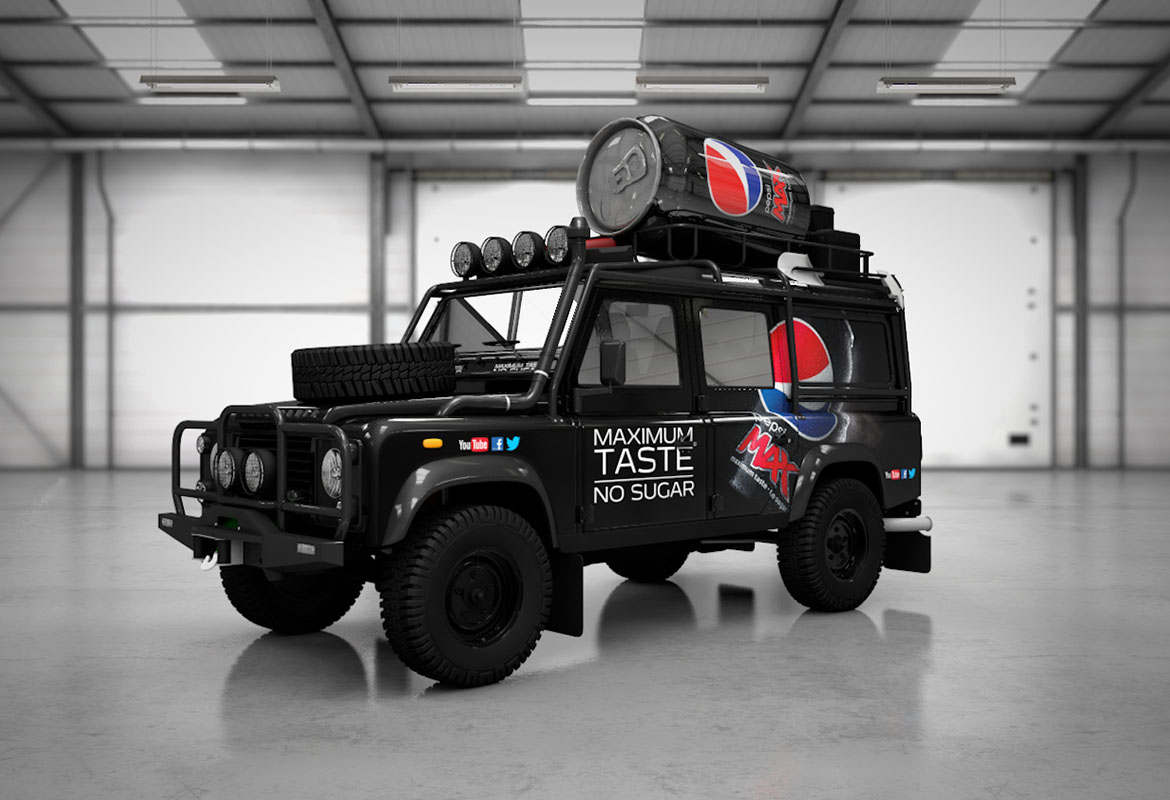 PEPSI MAX HEAVY DUTY DEFENDERS
